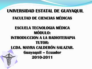 UNIVERSIDAD ESTATAL DE GUAYAQUIL