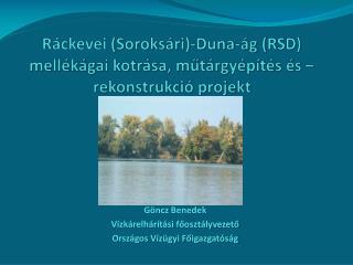 Ráckevei (Soroksári) -Duna-ág  (RSD) mellékágai kotrása, műtárgyépítés és – rekonstrukció  projekt