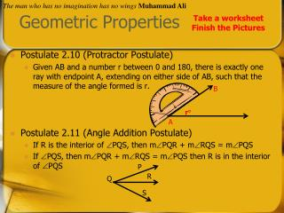 Geometric Properties