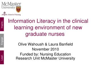 Information Literacy in the clinical learning environment of new graduate nurses