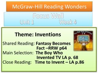 McGraw-Hill Reading Wonders