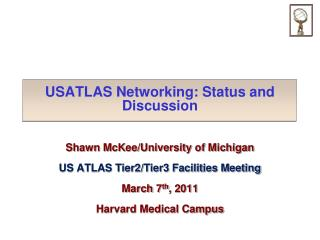USATLAS Networking:  Status and Discussion