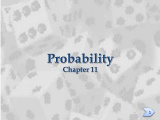 Probability Chapter 11
