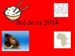 Bol de riz 2014