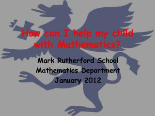 How can I help my child with Mathematics?
