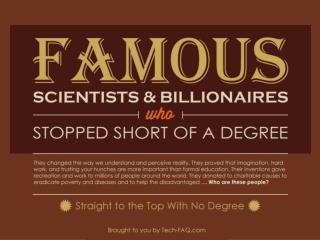 Famous dropouts Final