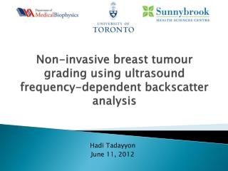 Non-invasive breast tumour grading using ultrasound frequency-dependent backscatter analysis