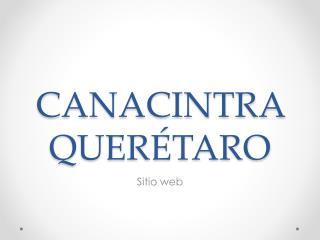 CANACINTRA QUER�TARO