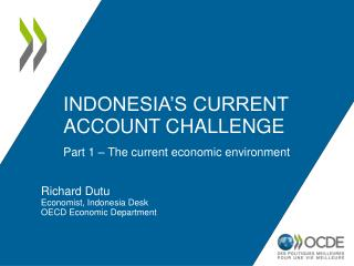 Indonesia�s current account challenge