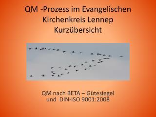 QM -Prozess im Evangelischen Kirchenkreis Lennep Kurzübersicht