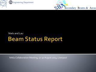 Beam Status Report