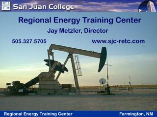 Regional Energy Training Center