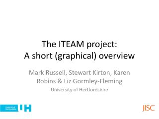 The ITEAM project: A short (graphical) overview