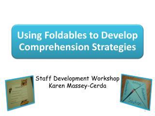 Staff Development Workshop Karen Massey- Cerda