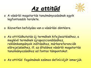 Az attitud