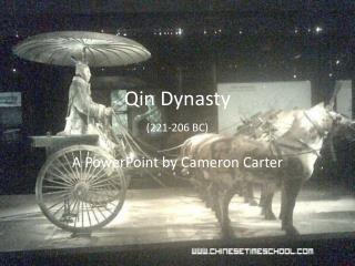 Qin Dynasty (221-206 BC)