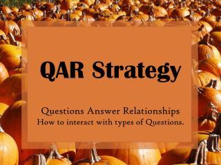 QAR Strategy