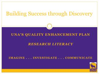 Building Success through Discovery