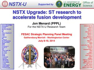 NSTX Upgrade: ST research to  accelerate fusion development