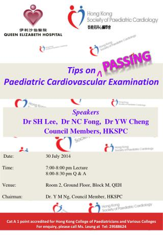 Tips on  Paediatric  Cardiovascular Examination