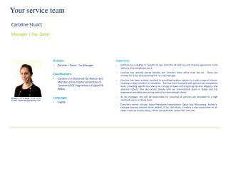 Your service team