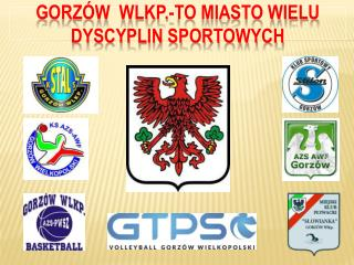 GORZÓW  WLKP.-TO MIASTO WIELU DYSCYPLIN SPORTOWYCH