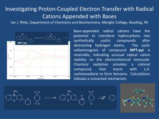 Investigating Proton-Coupled Electron  Transfer with  Radical  Cations  Appended  with Bases
