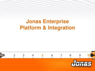 Jonas Enterprise  Platform & Integration