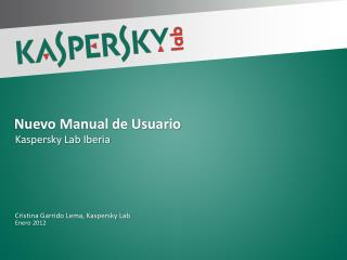 Nuevo Manual de  Usuario