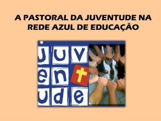 A PASTORAL DA JUVENTUDE NA  REDE AZUL DE EDUCAÇÃO