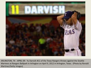 Darvish struggles but wins Rangers debut