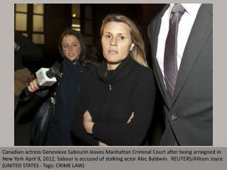 Woman accused of stalking Alec Baldwin