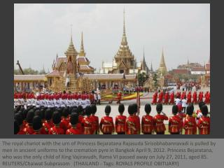 Royal cremation of Thai princess