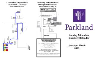 Nursing Education  Quarterly Calendar