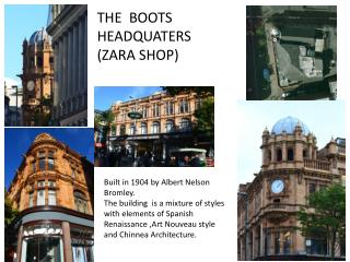 THE  BOOTS HEADQUATERS  (ZARA SHOP)