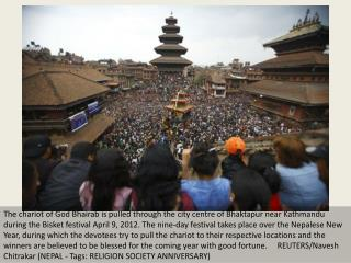 Nepal celebrates New Year festival