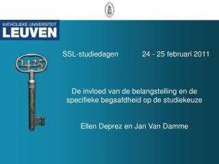 SSL-studiedagen       24 - 25 februari 2011
