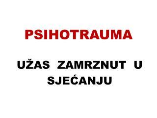 PSIHOTRAUMA