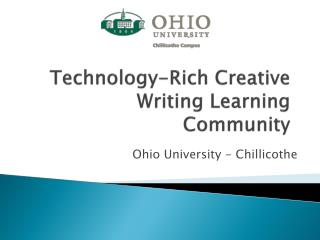 Technology-Rich Creative Writing Learning Community