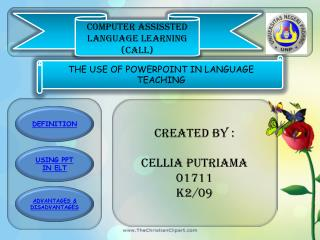 COMPUTER ASSISSTED LANGUAGE LEARNING (CALL)