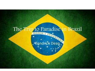 The Trip to Paradise in Brazil