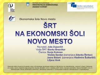 Ekonomska šola Novo mesto