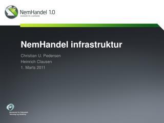 NemHandel infrastruktur