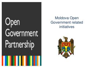 Moldova Open  Government related initiatives