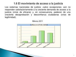 1.6 El movimiento de acceso a la justicia