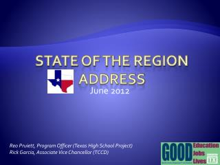 State of the region address