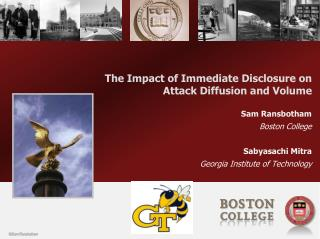 The Impact of Immediate Disclosure on Attack Diffusion and Volume