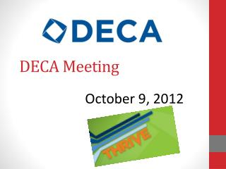 DECA Meeting