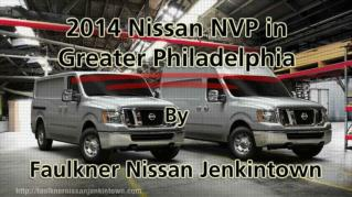 ppt 41972 2014 Nissan NVP in Greater Philadelphia