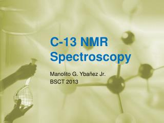 C-13 NMR Spectroscopy